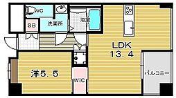 Casa Bonita カーサボニータ[1階]の間取り