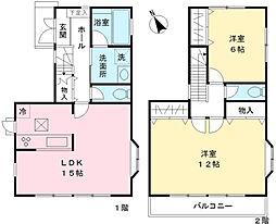 [一戸建] 神奈川県相模原市緑区大島 の賃貸【/】の間取り