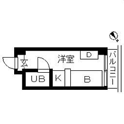 TOPROOM・横浜[0606号室]の間取り