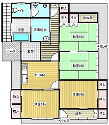 [一戸建] 宮崎県宮崎市中村東3丁目 の賃貸【/】の間取り