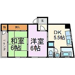 伊藤ビル(千代田)[301号室]の間取り