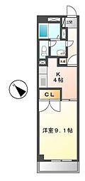 ネオ青山[1階]の間取り