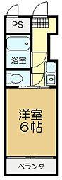 マンションジュール[3階]の間取り