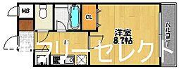 レステル博多[2階]の間取り