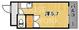 Lofty46[207号室号室]の間取り