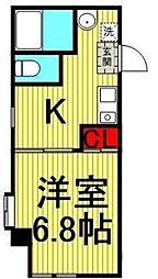 ラ・ヴィスタ[3階]の間取り