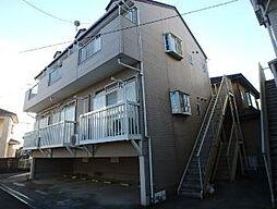 千葉県成田市新田の賃貸アパートの外観