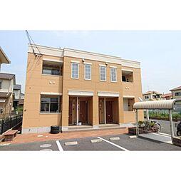 奈良県生駒郡斑鳩町高安西の賃貸アパートの外観