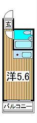 スカイコート西川口第3[7階]の間取り
