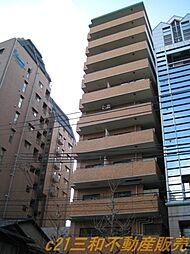 京都府京都市下京区恵美須之町の賃貸マンションの外観