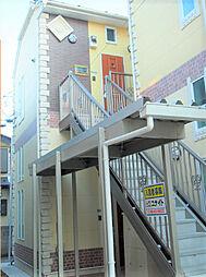 神奈川県横浜市鶴見区上末吉4丁目の賃貸アパートの外観