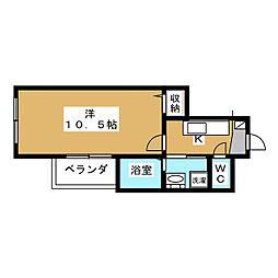 メゾン・ジョイス[1階]の間取り