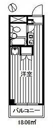 アーバンライフ赤塚[3階]の間取り