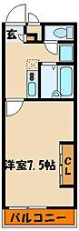 レナアバンス[1階]の間取り