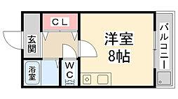 SOLEIL花屋敷[2階]の間取り