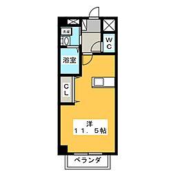 マーベラスK1 B棟[1階]の間取り