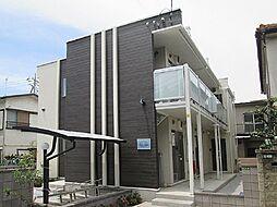 東京都世田谷区喜多見2丁目の賃貸アパートの外観