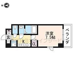 (仮称)西明田町レジデンス[501号室]の間取り