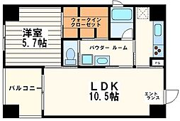 KWレジデンス堺筋本町[13階]の間取り