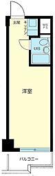 日本橋ニューシティダイヤモンドパレスB号棟[5階]の間取り