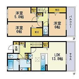 次郎丸駅 11.9万円