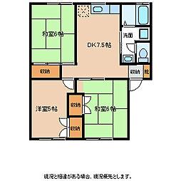 フロムパート3[2階]の間取り