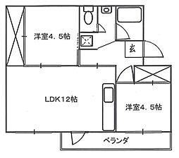 加茂川団地 12号棟