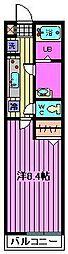 埼玉県さいたま市岩槻区加倉1丁目の賃貸アパートの間取り
