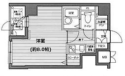 グランド・ガーラ横浜関内[7階]の間取り