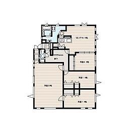 山の手7-7戸建て 3階4LDKの間取り
