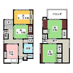 星川駅 7.5万円