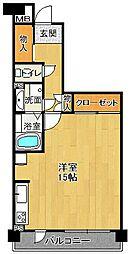 阪急西宮マンション[5階]の間取り