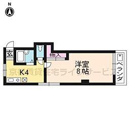 室町マンション[305号室]の間取り