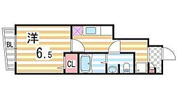 フレーリーコート[102号室]の間取り