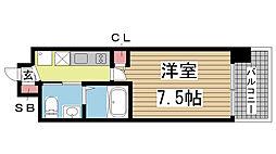 ER City's兵庫駅[10階]の間取り