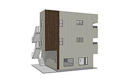 (仮称)東町マンション[3階]の外観