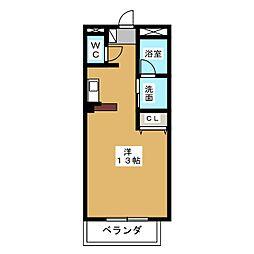 クラスティーナ117[2階]の間取り