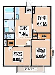 みのうらーII[2階]の間取り