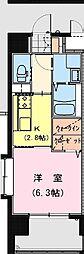 California APT ~カリフォルニア アパートメント~ 3階1Kの間取り