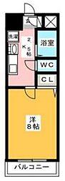 プレアール原田II[202号室]の間取り