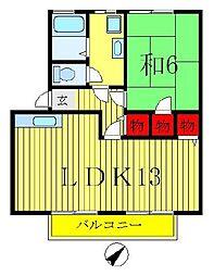 北総GRACEII[2階]の間取り