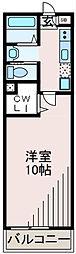 ヴェルドミール玉川学園2[2階]の間取り