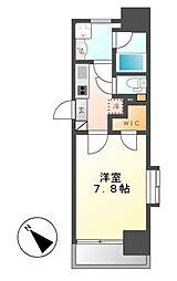 メイプルコート本山[6階]の間取り