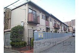 京都府京都市下京区西田町の賃貸アパートの外観