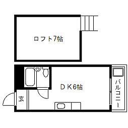 マンションV3[302号室]の間取り