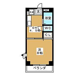 Comfort・City[2階]の間取り