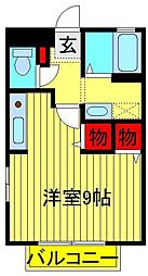 TOWN−A[2階]の間取り