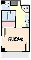 ビアンMA[2階]の間取り