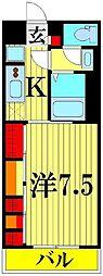 リブリ・トーカク SAITAMA[205号室]の間取り