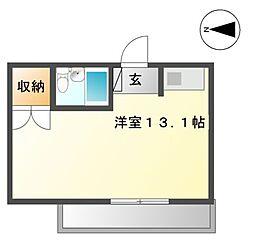 ラ・フォーレ矢田No2[3階]の間取り